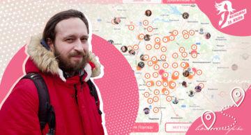 Разрабатывал «Карту волонтеров», а часть гонорара потратил на подопечную