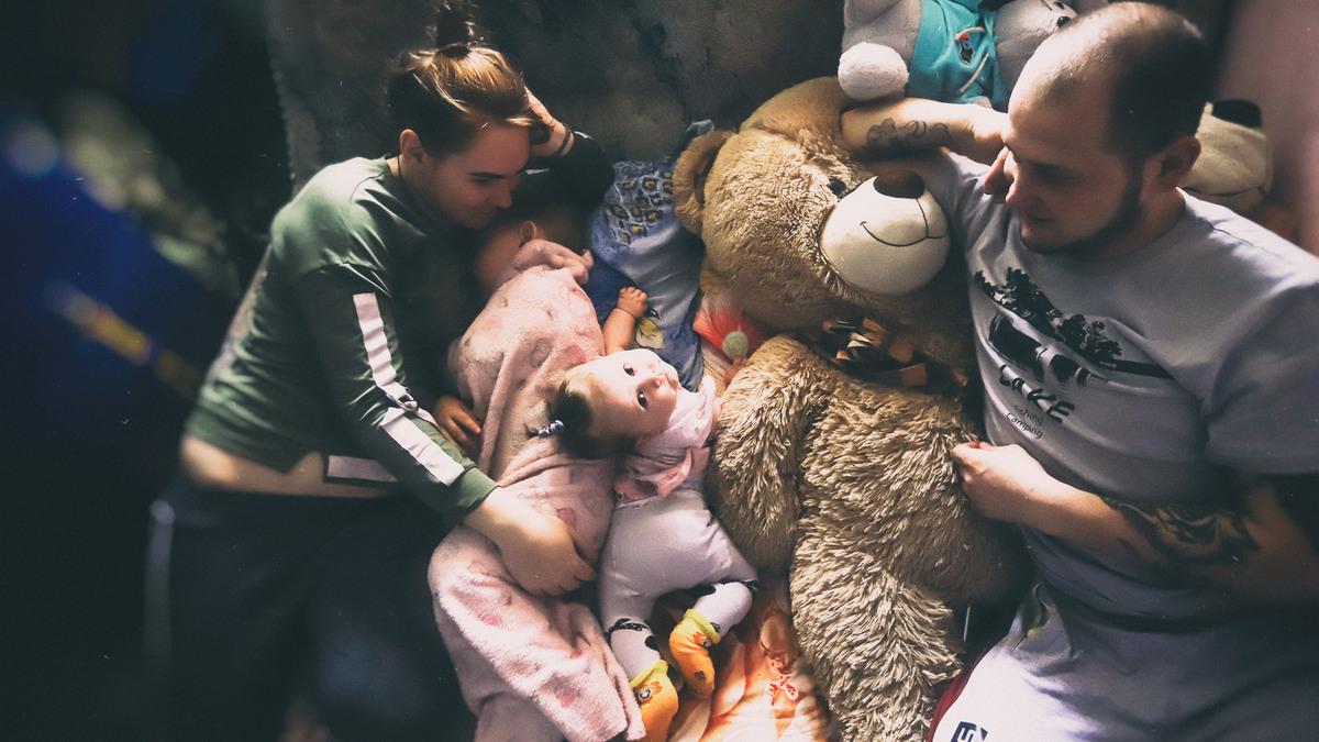 Как поместиться с тремя детьми в одной комнате и родить четвертого
