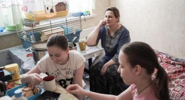 Мама семи детей, которой помогает только Бог